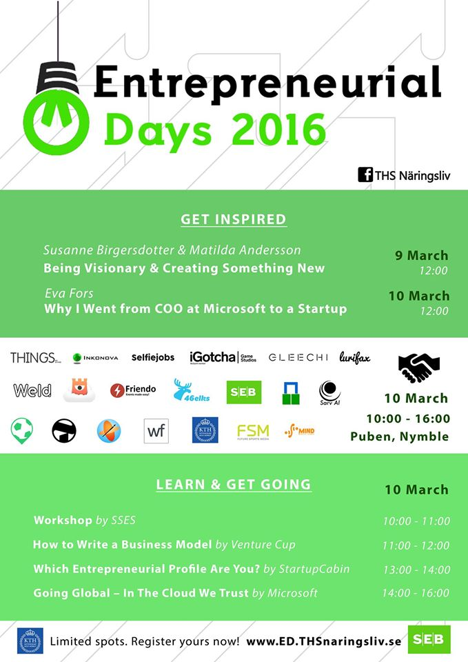 Entrepreneurial Day 2016