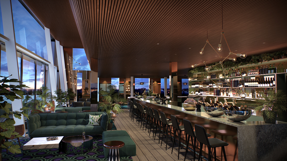 The Capital - Scandic Continental rooftop bar