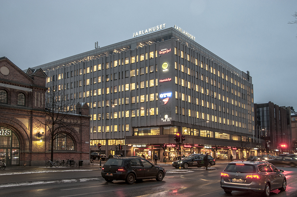 Spotify HQ in 61 Birger Jarlsgatan, Stockholm, Sweden